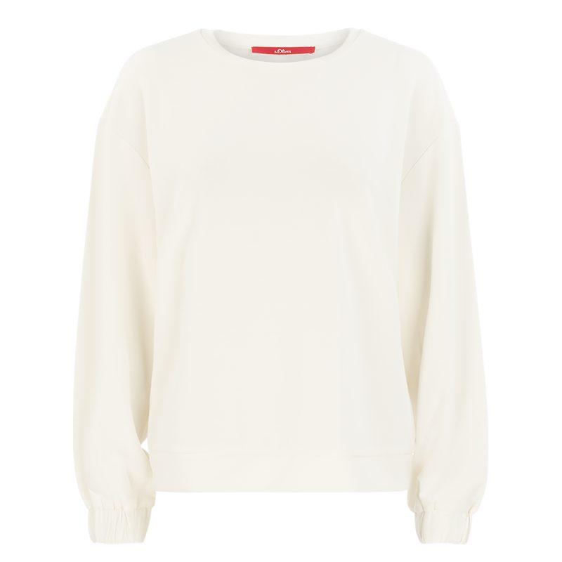 sweatshirt, off-white
